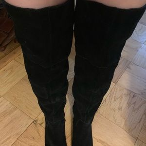 Steve Madden Shoes - Steve Madden suede over the knee boots